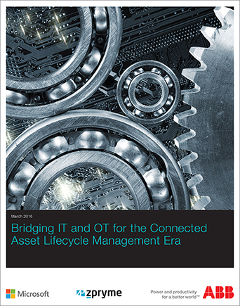 IT-OT Convergence Survey Report for Utilities | Bridging IT and OT for the Connected Asset Lifecycle Management Era