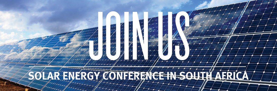 SOLAR ENERGY CONFERENCE IN SOUTH AFRICA
