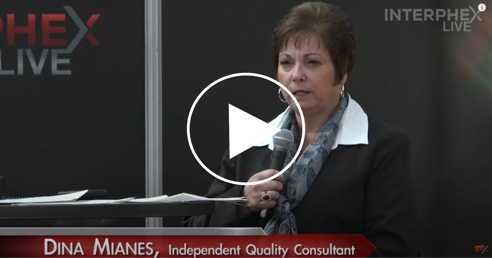"INTERPHEX Live 2015: ""How to Prepare for an Auditor or an Inspection"""