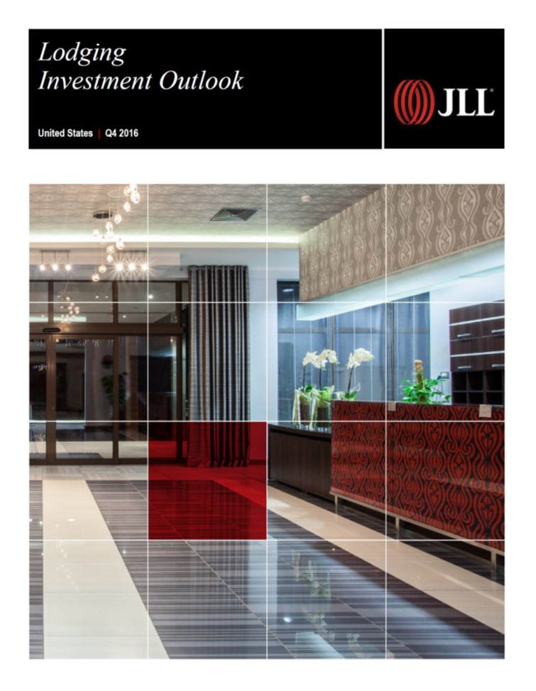u.S. Lodging Investment Outlook | Q4 2016