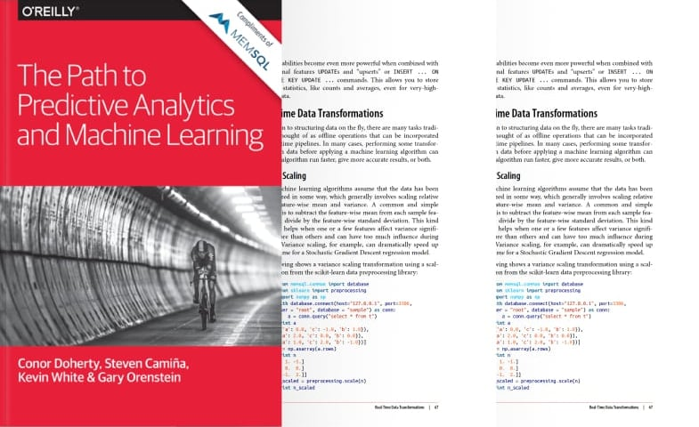 The Path to Predictive Analytics and Machine Learning Book