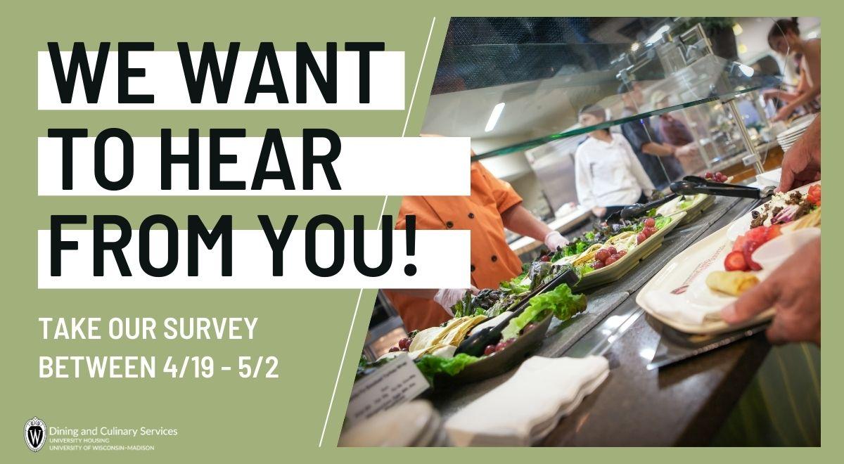Take the Dining Plan Survey