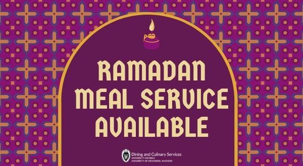 Ramadan Meal Service