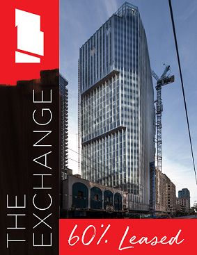 The Exchange 60% Leased
