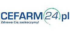 Logo Cefarm24.pl - Zdrowo Cię zaskoczymy!