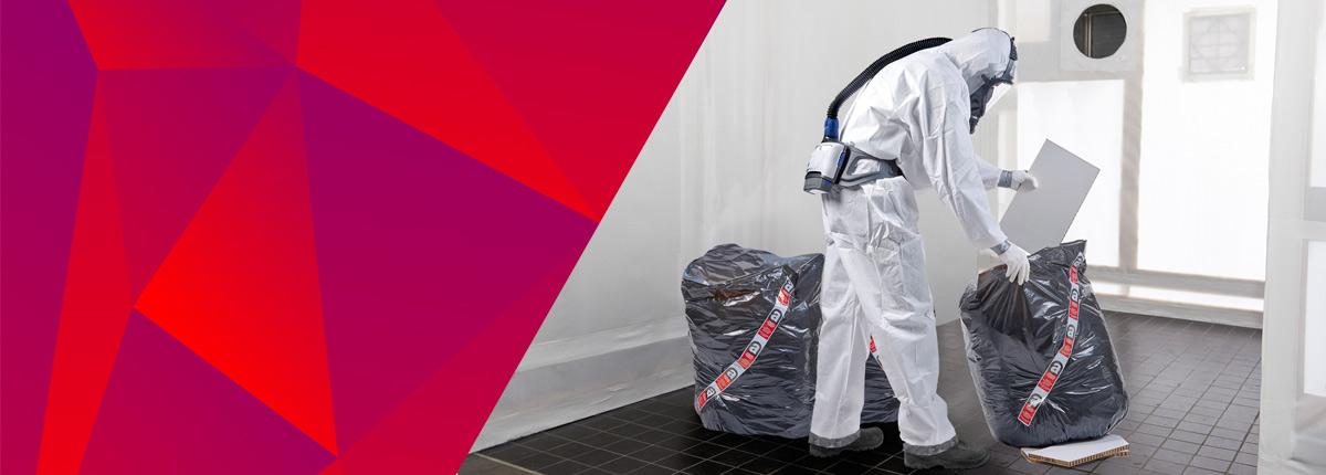 Ochrona pracownika podczas usuwania azbestu
