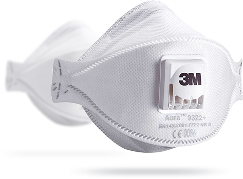 Produkt półmaska filtrująca 3M Aura 9322+