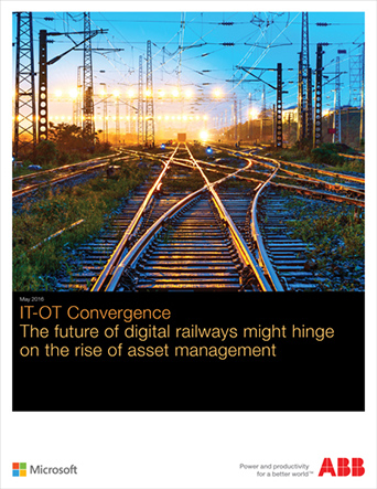 IT-OT Convergence Survey Report for Railway Operators | The future of digital railways might hinge on the rise of asset management