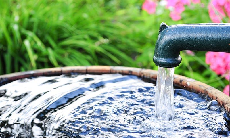 outdoor faucet