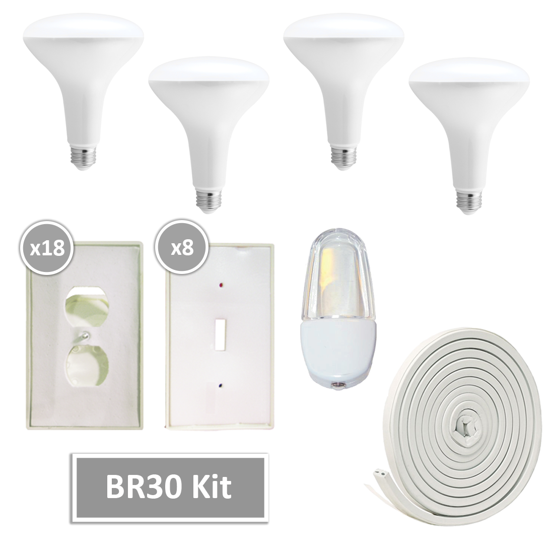 BR30 LED Kit