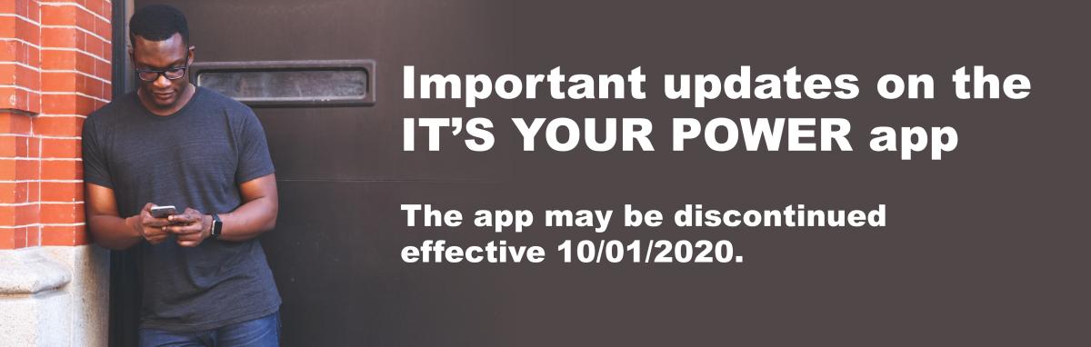 IT'S YOUR POWER Updates