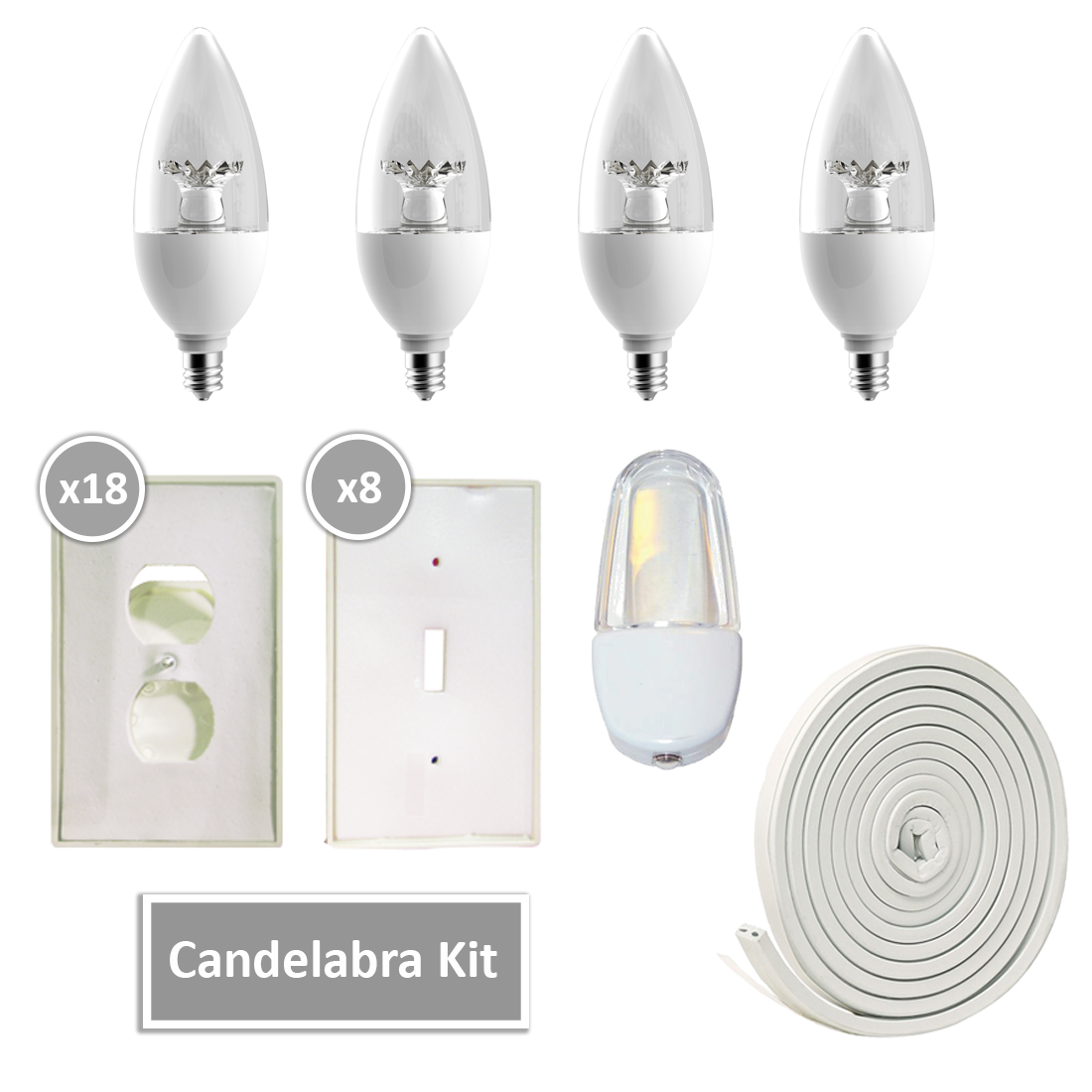 Candelabra LED Kit