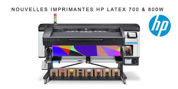 Image imprimante HP Latex 700 & 800W