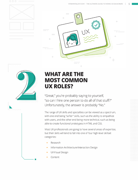 Ultimate Guide to Hiring UX Designers Guide preview