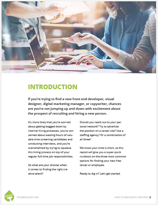 Find Digital Creatives Guide preview