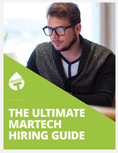 Martech Hiring Guide Cover Image
