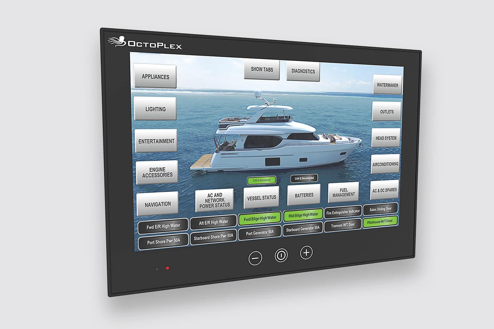 OctoPlex Touchscreen