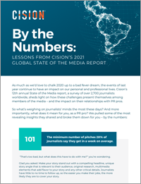 Cision By the Numbers