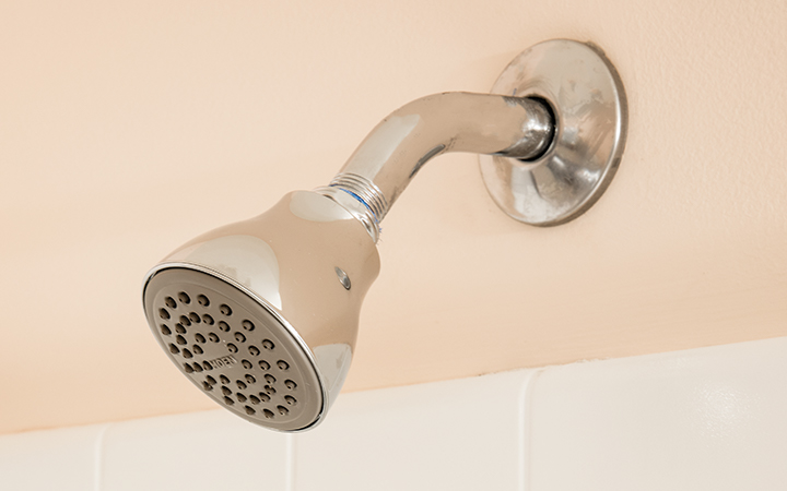 Efficient-flow showerhead.