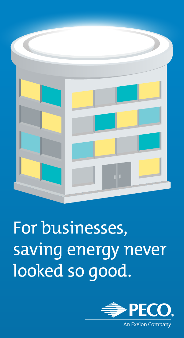 For business, saving energy never looked so good.