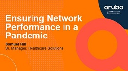 Ensuring Network Performance in a Pandemic