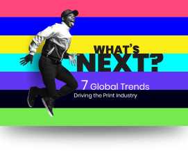 These 7 trends are reshaping the global print industry…