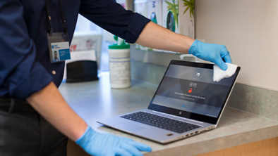 HP Business PC/Print Devices Cleaning Guide: Helping Businesses Address Coronavirus