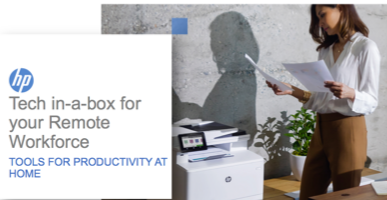 HP Tech In-a-Box for your Remote Workforce – Tools for Productivity at Home