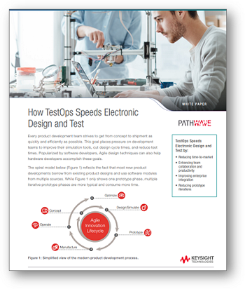 TestOps는 어떻게 전자장치 설계 및 테스트 속도를 높여주는가