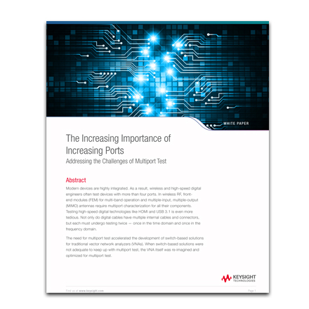 White Paper: The Increasing Importance of Increasing Ports