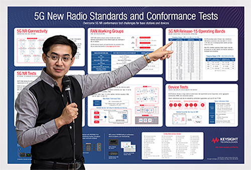5G New Radio Standards and Conformance Tests poster