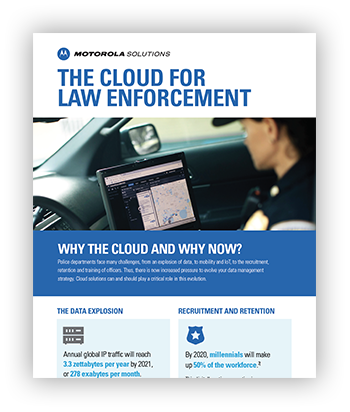 Cloud for Law Enforcement