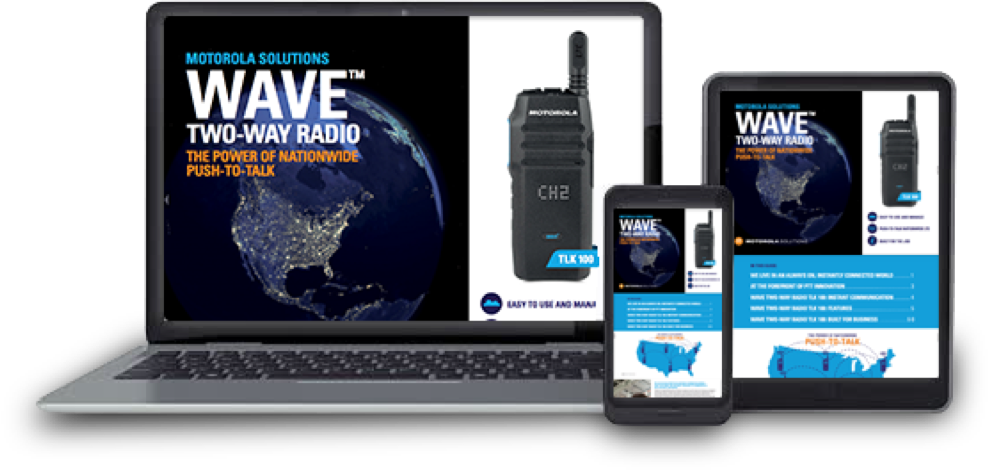 Wave™ Two-way Radio Logo