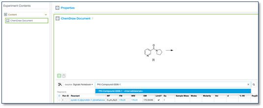 Chemistry Improvements