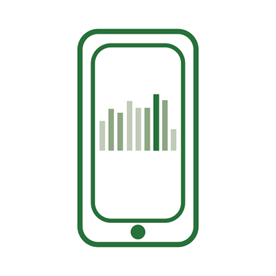 Phone data illustration