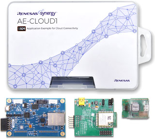 Renesas Synergy AE-CLOUD1 Kit