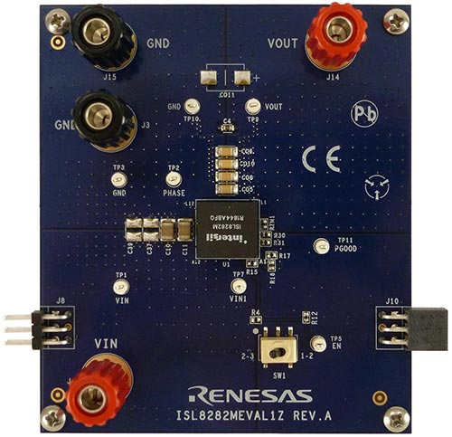 Renesas ISL8282MEVAL1Z Kit