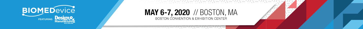 Boston 2020 // May 6-7, 2020 // Boston Convention & Exhibition Center // Boston, MA