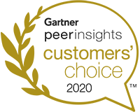 Gartner peerinsights customers' choice 2020
